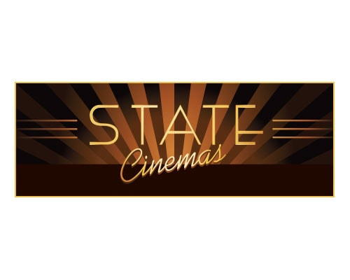 graphic design for State Cinema